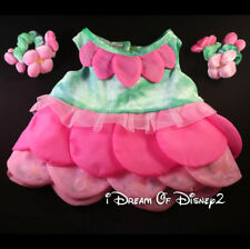 Build-A-Bear GARDEN PARTY PETALS DRESS w FLOATING FLOWERS Retired Teddy Clothes