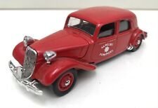 Citroën Traction 15-Six 1939 Sapeurs Pompiers - SOLIDO 4032 - 1982 - BE+/TBE