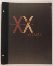 Yslaire Portfolio Memoires Cachees du XXe Siecle Champaka 250 ex en 2001