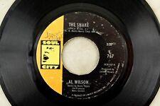 Al Wilson - Soul City 45 RPM - The Snake/ Getting Ready For Tomorrow B3