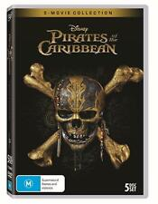 Pirates Of The Caribbean 1 - 5 Movie Collection : NEW DVD