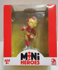 Marvel Comics Mini Heroes IRON MAN Vinyl Animated Figure - NEW - 4""
