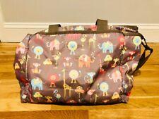LeSportsac Ryan Baby Diaper Large Tote Bag Zoo Buddies - New