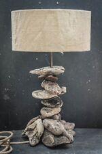 Driftwood Table Lamp.Drift Wood Table lamp, Driftwood Lamp with Shade Cornwall