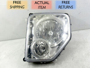 GENUINE OEM | 2008 - 2012 Jeep Liberty Halogen Headlight (Left/Driver)