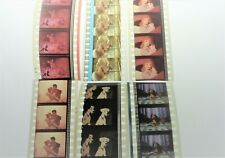CINDERELLA FROZEN BAMBI 101 DALMATIONS LADY AND THE TRAMP FILM CELL STRIPS
