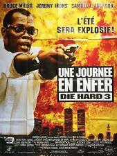 Poster Folded 47 3/16x63in a Day in Hell (Die Hard 3) 1995 New