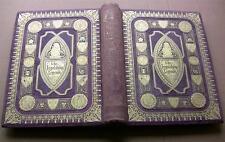 1866* INGOLDSBY LEGENDS *RARE CARTONNAGE VIOLET &OR* GRAVURES LIVRE BOOK BENTLEY