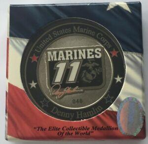 2007 Denny Hamlin #11 FedEx / Marines - Memorial Day NASCAR Challenge Sport Coin