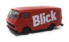 Herpa H0 1:87 Volkswagen VW Transporter LT Blick rot Modellauto Kunststoff