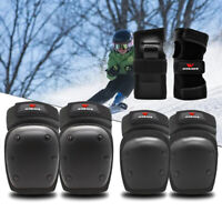 Skating Knee Pads Elbow Wrist Guards Sets Skateboard Motorcycle Protective Gear