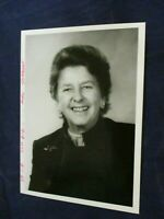 Vintage Hester L. Sargent pearls smiles for Glossy Press Photo