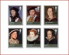 GBR0906 The Tudors 6 stamps MNH GB 2009