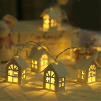 10 LED Light Tree House 2 Meters Christmas Fairy String  Hanging Ornaments Decor