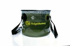 Ridgemonkey Perspective Collapsible 10lt Water Bucket Carp Fishing New