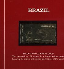 Scotland STAFFA MNH GOLD 23 Carat SF321 Value 20 pounds