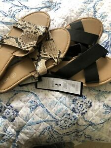 Two Pairs Of Slip On Shoes Slides From Rubi Shoes New With Tags  Size 39
