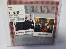 BROTHERS JOHNSON ~ DAZZ BAND ~ WINNING COMBINATIONS ~ 2000 ~ NEW CD