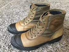 REPLAY MENS LEATHER BOOTS UK 9/43