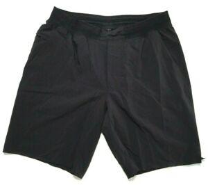 Lululemon The Short Men's Large Activewear Running Shorts Black Linerless
