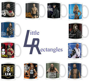 WWE Coffee Mugs - New - Officially Licensed WWE Product - SHIPPING COMBINES
