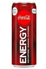 Coca-Cola Energy Drink  24x 250ml Expiry Date 30/09/2021
