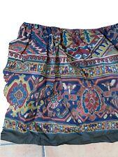Ralph Lauren Poet Society Full Double Bed Skirt Gathered Rug Tapestry New Luxury