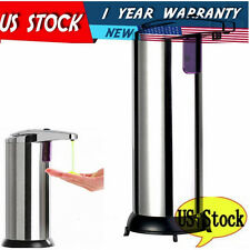 Stainless Steel Hands Free Automatic IR Sensor Touchless Soap Liquid Dispenser P