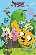 NEW ADVENTURE TIME HOUSE WALL POSTER PYRAMID MAXI 62cm X 91cm  PP32957 5D