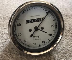 Smiths Chronometric Speedometer 0-80 MPH M.A TYPE -Replica