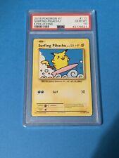 Psa 10 Surfing Pikachu
