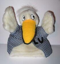 Vintage Lufthansa Airlines Lu Duck Plush Hand Puppet