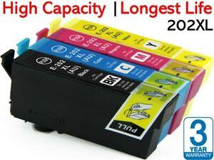 4x Generic Ink Cartridge E-202XL 202XL for Epson Workforce WF2860 XP5100 202 XL