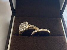Diamond Engagement Ring And Wedding Band Set