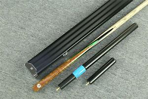 """Grand""  Emperor Series 1 pc Ash Shaft Black Ebony Handmade Snooker Cue Set@1608"
