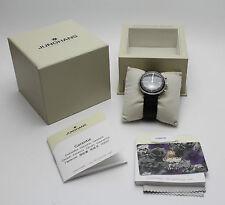 ORIGINALE JUNGHANS CRONOMETRO scientifico-Max Bill orologio in scatola originale con documenti