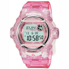 Casio Bg-169r-4er Baby-g Pink Ladies Alarm Chronograph Watch
