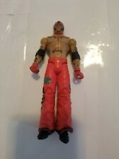 Rey Mysterio Wrestling Action Figure, WWE, Mattel, 2010 Red with red gloves