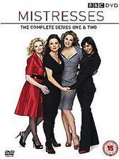 Mistresses Complete Series 1 - 2 (DVD,4-Disc Set) Region 2 & 4 +Special Features