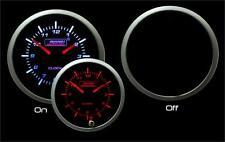 "Premium Series Fuel Level Guage Amber/White 52mm (2 1/16"")"