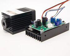 12V Focusable 520nm 1000mW Green Buner Laser Module/For Laser Engraving System