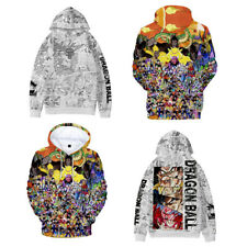 Dragon Ball Comic Book Super Saiyan Son Goku Hoodie Sweatshirt Pullover Sweater