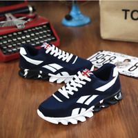 UK 2019 Fashion Men's Casual Shoes Sneaker Trendy Comfortable Plus Size 40-49