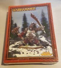GW Warhammer Ogre Kingdoms Tyrant 95-11 - METAL OOP SEALED BOX