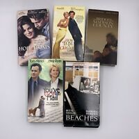 Lot Of 5 Romance VHS Movies Beaches, Hope Floats, You've Got Mail