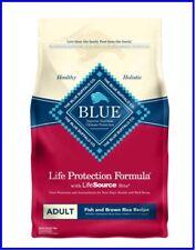 Blue Buffalo Life Protection Formula Natural Adult Fish and Brown Rice 15 lb Bag