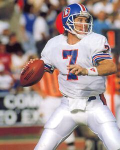 John Elway Broncos, 8x10 color photo