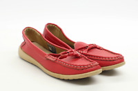 Fleet & Foster Womens EU Size 40 Red Leather Dolly Shoes