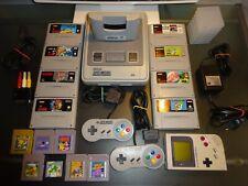 Super Nintendo SNES mit Gameboy Classic + Gameboyplayer +Spiele.
