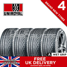 "4x NEW 205 45 17 UNIROYAL RAINSPORT 3 205/45R17 88Y XL (4 TYRES) ""A"" WET GRIP"